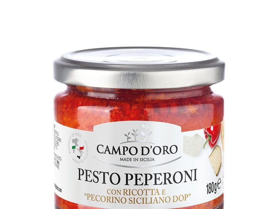 Pepper Pesto Pasta Sauce – 180 gr