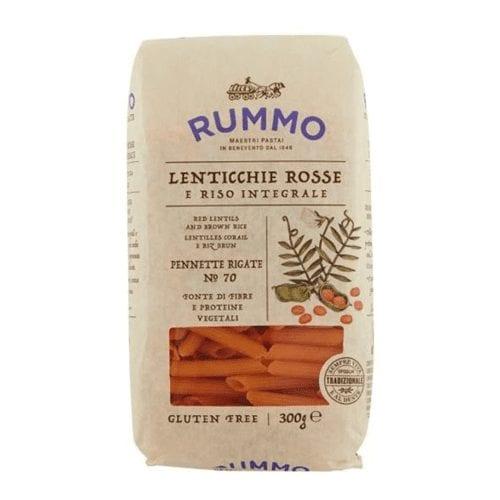 red lentils pennette