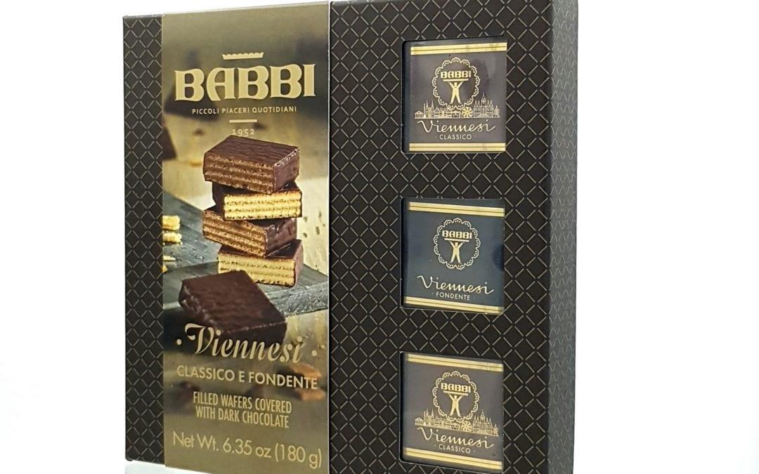 Viennese wafer chocolate & dark chocolate