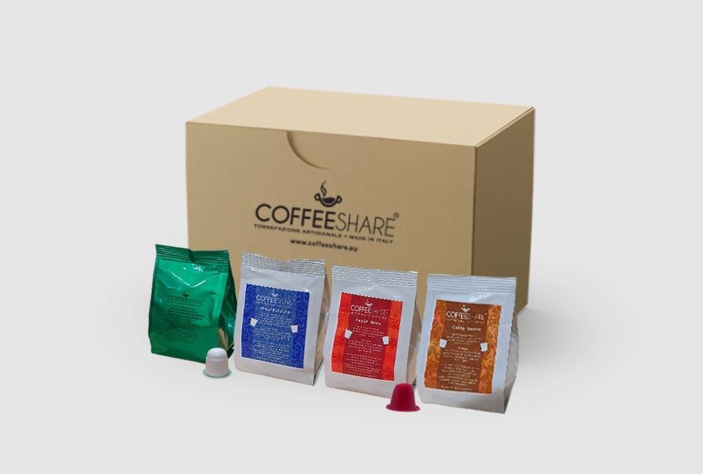3 Italian Coffee blends Nespresso Capsules