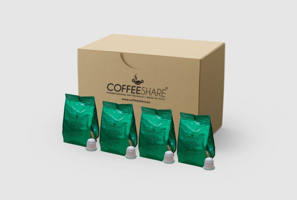 Nespresso Compostable Moro Italian Coffee capsules