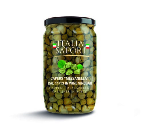 preserved capers
