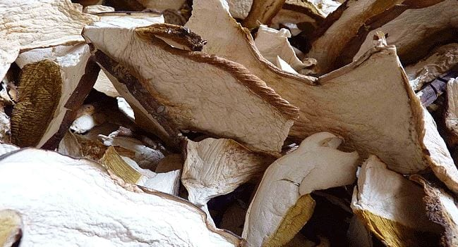 How to cook dried mushroom