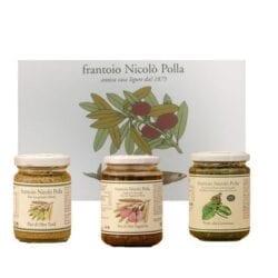 basil olive pasta hamper