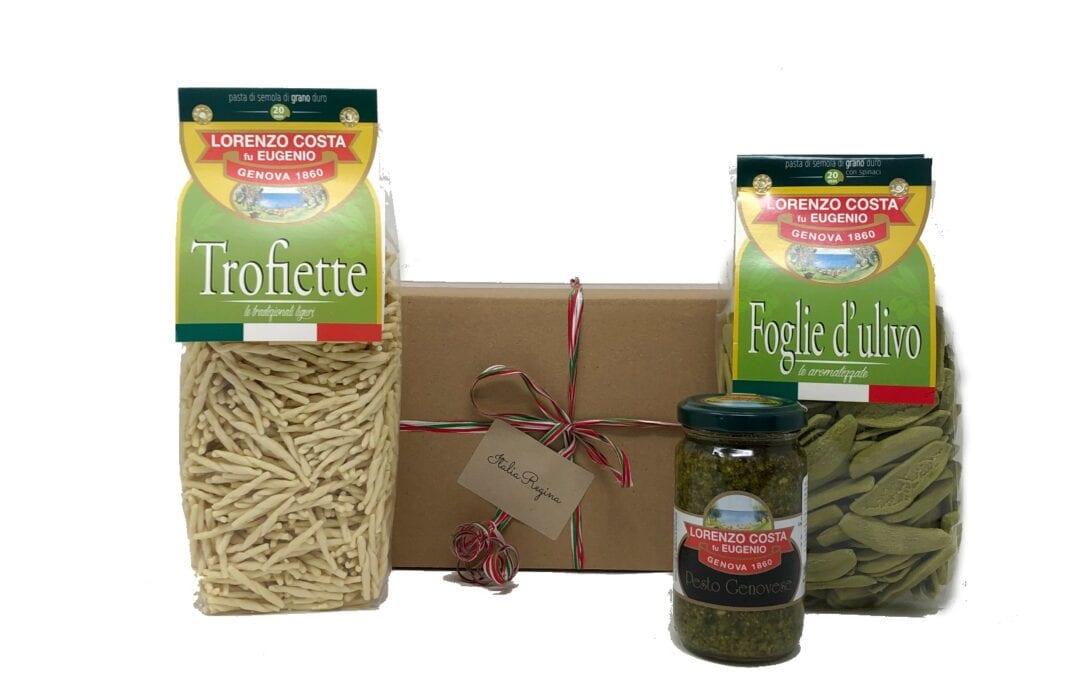 2 Pasta Pack and 1 Pesto Jar – Gift pack