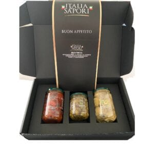 preserved vegetables in giftbox