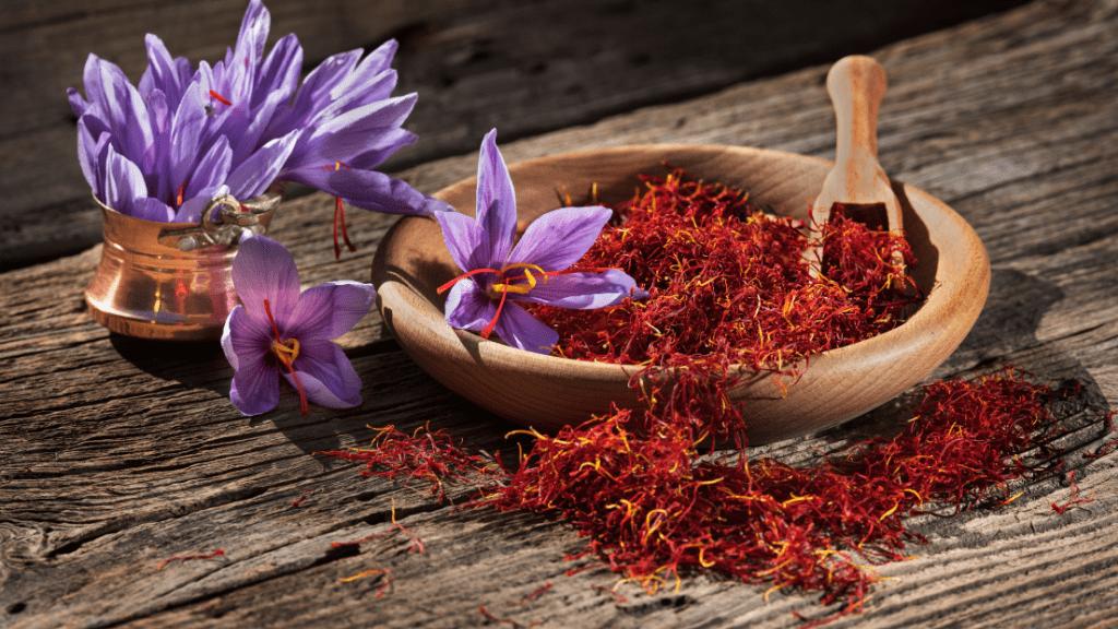 Saffron in Pistils