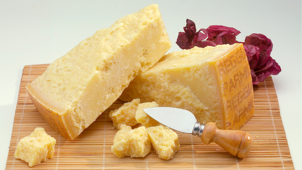 parmesan aged over 12 months