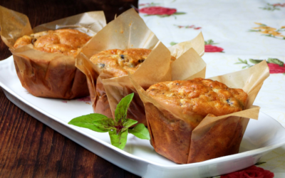 Easter Muffin Recipe with Parmesan