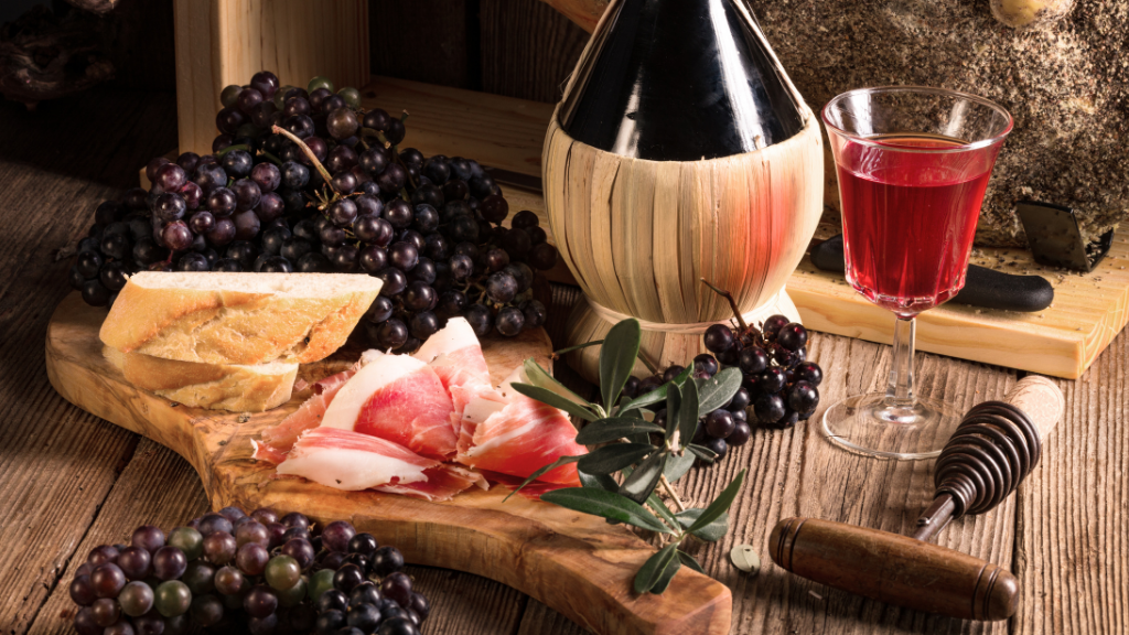 wine pairings with prosciutto